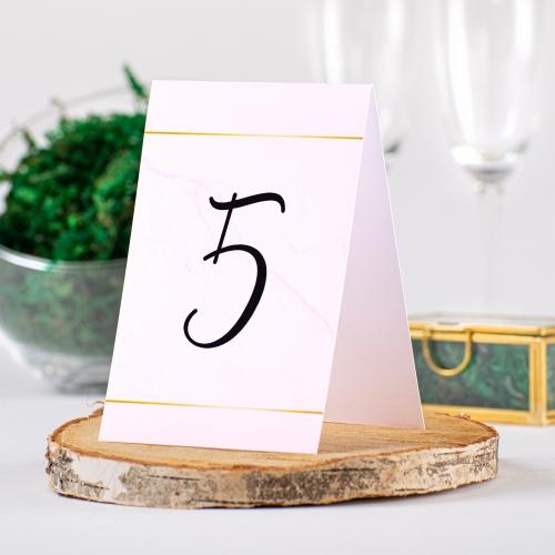 Numer stolika - BohoMaz różowy