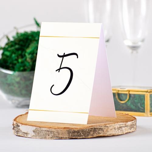 Numer stolika - BohoMaz kremowy