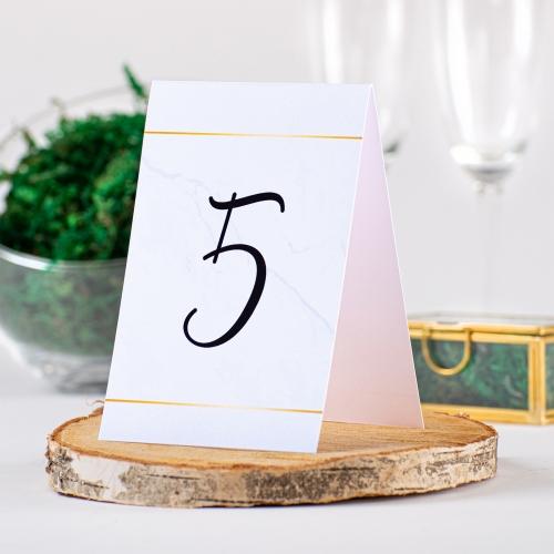 Numer stolika - BohoMaz błękitny