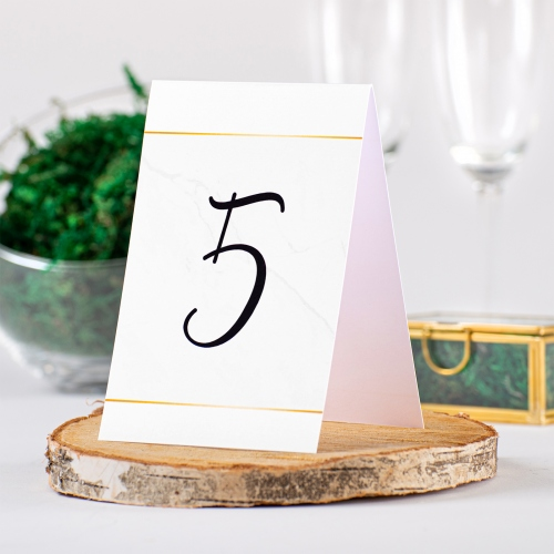 Numer stolika - BohoMaz biały
