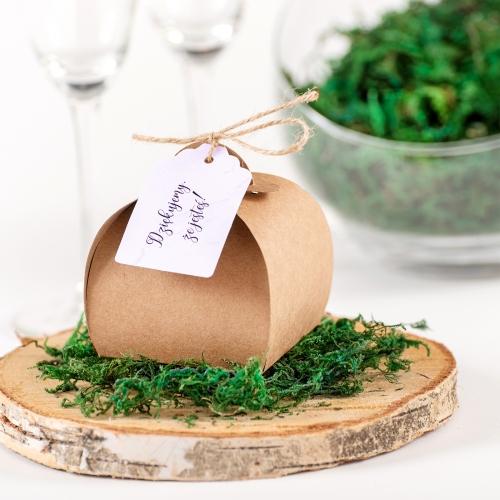 Pudełeczka dla gości - BohoMaz - fioleto (10 sztuk)