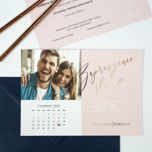 Zaproszenia ślubne - Our Postcard