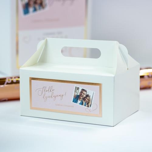 Pudełko na ciasto - Our Postcard