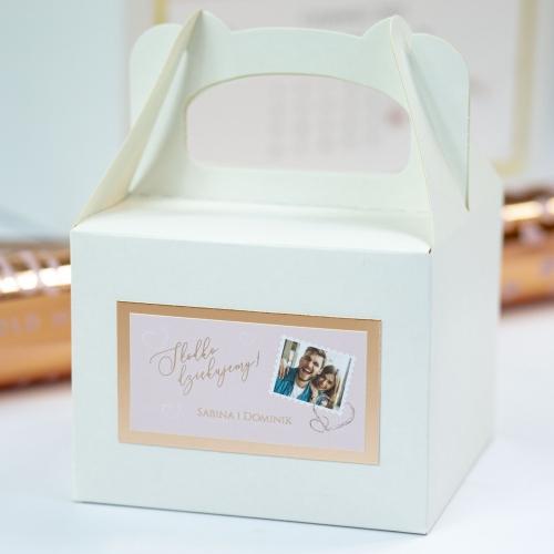 Małe pudełko na ciasto - Our Postcard