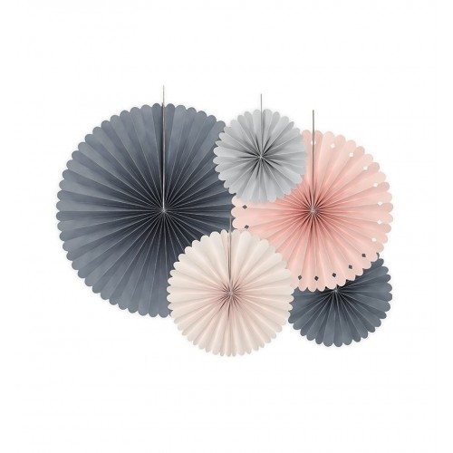 Rozety dekoracyjne Elegant Bliss (5 sztuk)