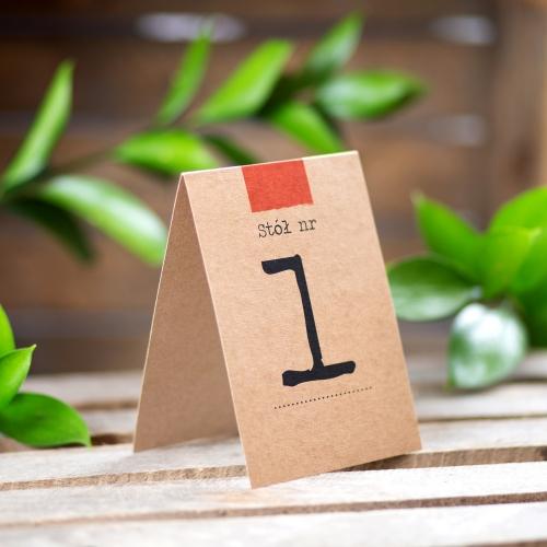Numer stolika - Akta Sprawy