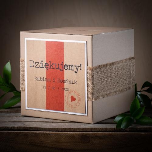 Pudełko na koperty - Akta Sprawy