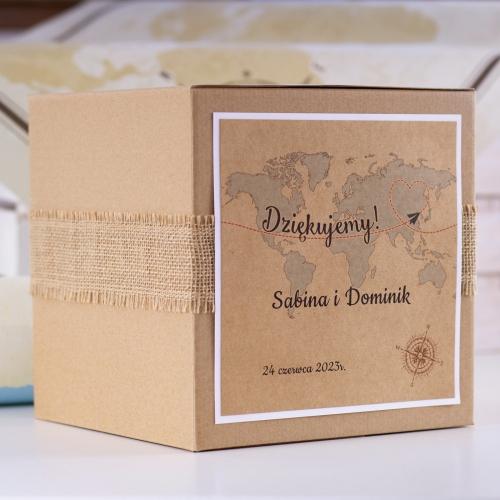 Pudełko na koperty - Our Journey EKO