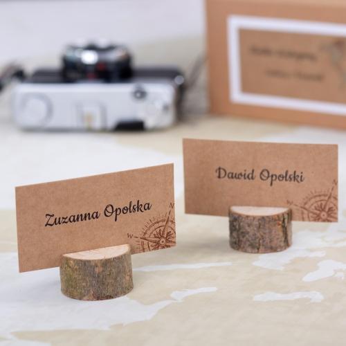 Winietka weselna z drewienkiem - Our Journey EKO