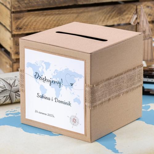 Pudełko na koperty - Our Journey