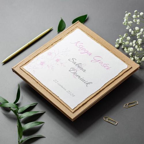 Księga gości - EKO - Gesso Flower