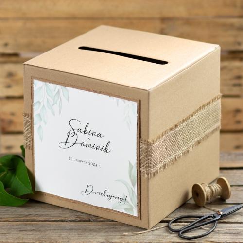 Pudełko na koperty - EKO - Gesso Ruskus