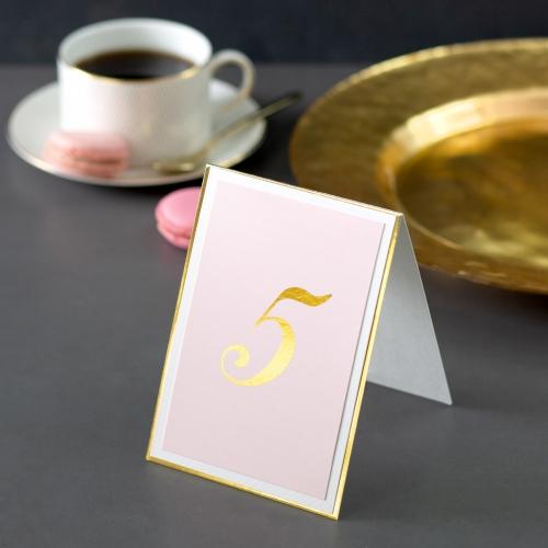 Numer stolika - Mirror Card