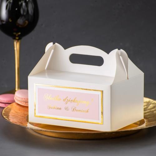 Duże pudełko na ciasto - Mirror Card
