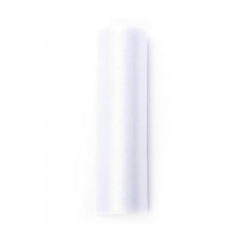 Organza gładka, biała